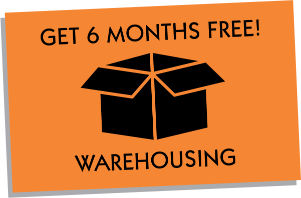 6 Months Free Warehousing