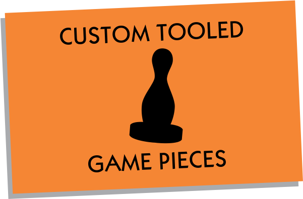 Custom Tooled Metal & Plastic Game Pieces