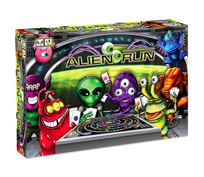 Alien Run Board Game