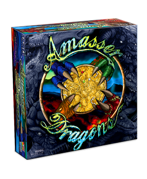 Amasser Dragons Fantasy Adventure Card Game
