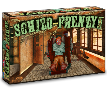 Schizo Frenzy 5150 Board Game