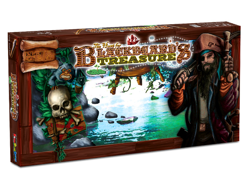 Hunt for Blackbeard's Treasure Board Game