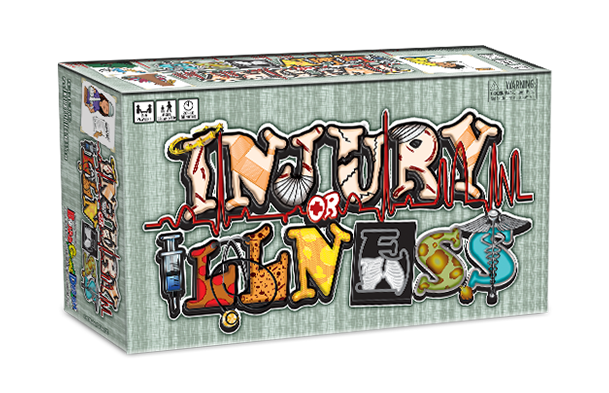 Injury or Illness Board Game