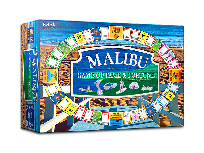 Malibu-Game of Fame Fortune Board Game