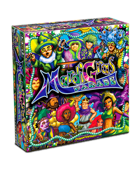 Mardi Gras Parade Board Game