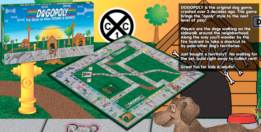 DOGopoly - Monopoly Styled Game