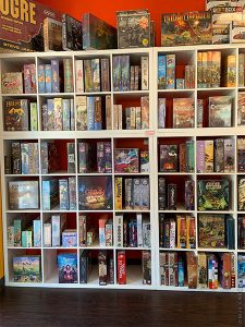 Game Store, Wall of Games