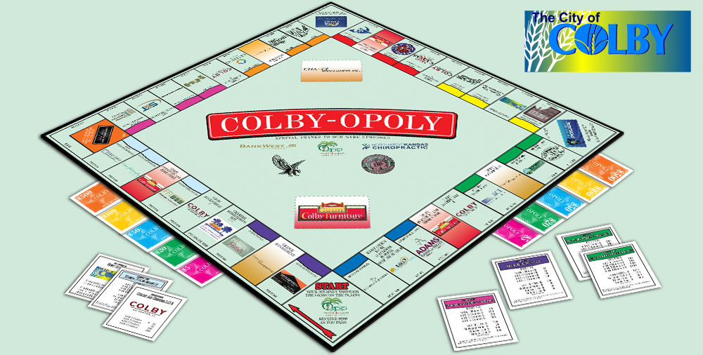 Colby-opoly - Monopoly Styled Game