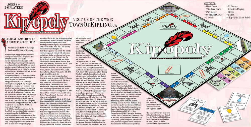 Kip-opoly - Monopoly Styled Game